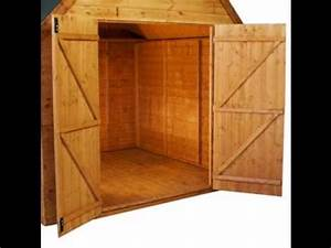 How To Build Shed Door - YouTube