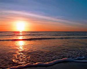 Romantic Beach Sunset Pictures | Beautiful Places ...