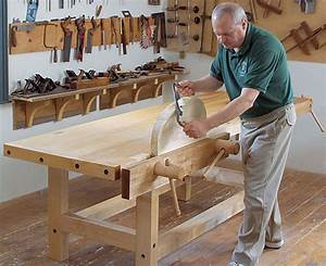 A Short History of Workbenches - FineWoodworking