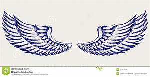 Simple Wings Clipart - Clipart Bay