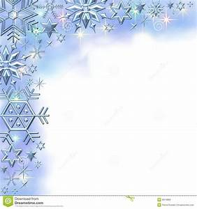Snowflake Border Clipart - Clipart Suggest