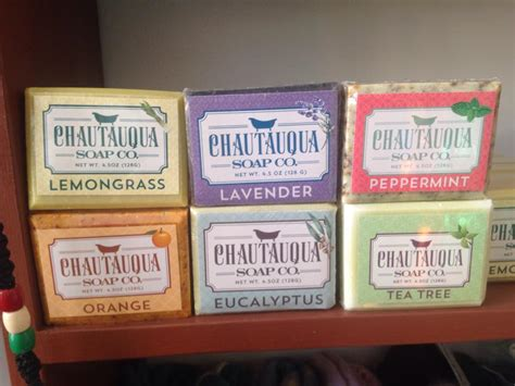 Chautauqua Soap Co. Soap