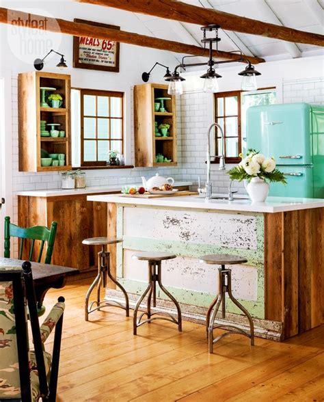 retro style house modelos de cozinha americana