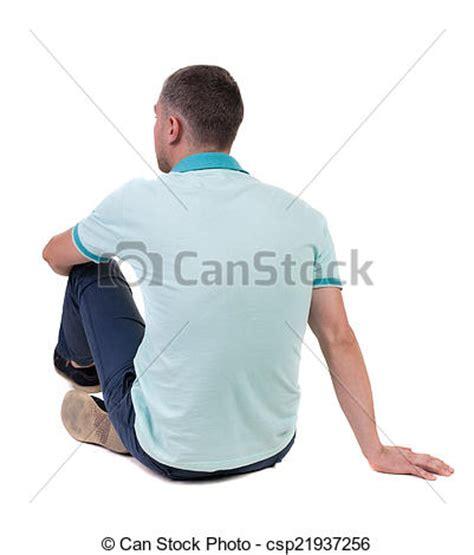 personne assise de dos images de haut dos assis regarder homme polo beau vue dos csp21937256 recherchez