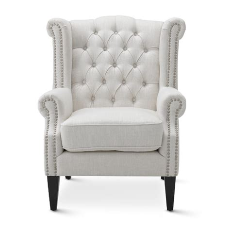 white royale wingback arm chair temple webster