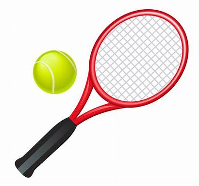 Tennis Clipart Racket Court Clip Tenis Raqueta