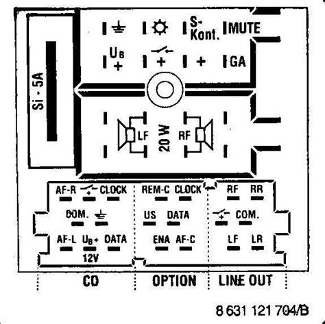 Car Audio Wire Diagram Codes Audi Factory Stereo