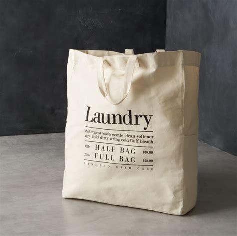 canvas laundry bag crate  barrel