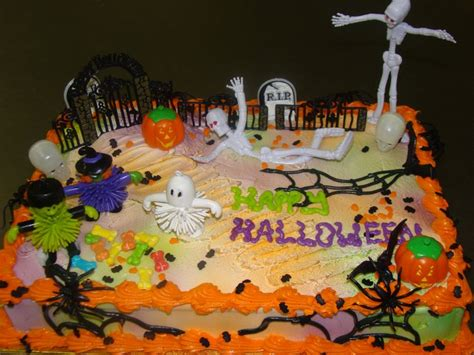 halloween themed sheet cakes festival collections
