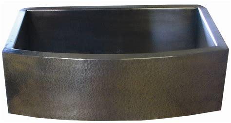 hammered stainless steel kitchen sink copper apron sinks 6977