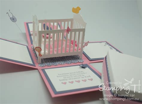 stampin  baby shower invitations party xyz