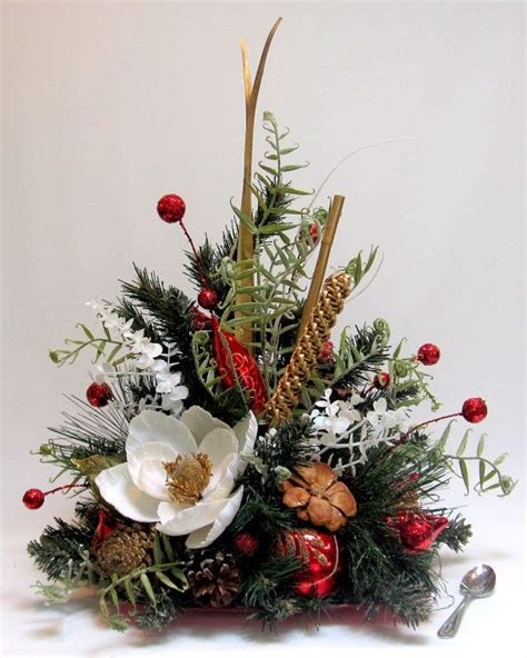 christmas arrangments contemporary style christmas decor holiday table decoration handmade ornament decor oriental
