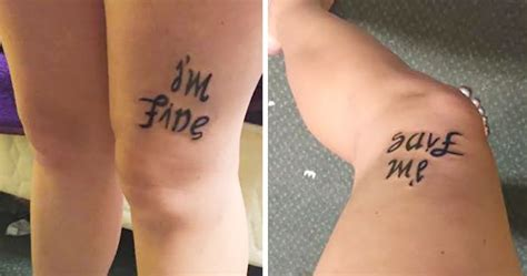 clever tattoos    hidden meaning bored panda