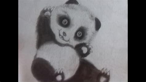 como dibujar  panda full hd youtube