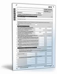 Unterhalt Kind Berechnen 2015 : anlage unterhalt 2015 steuerformular zum download ~ Themetempest.com Abrechnung