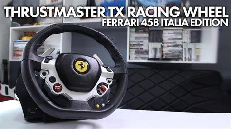 thrustmaster tx racing wheel ferrari  italia edition