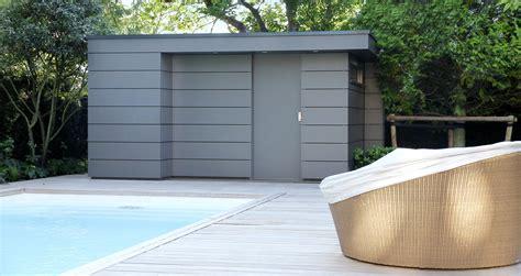 Modernes Gartenhaus Flachdach by Gartenhaus Box Das Kubus Gartenhaus