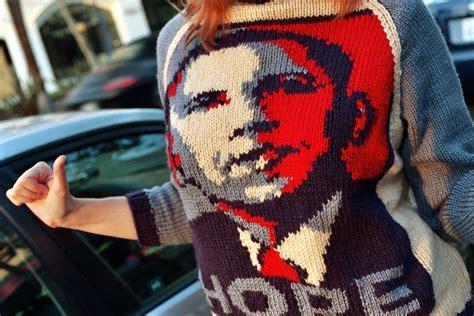 obama sweater birek s knitted barack obama sweater based on