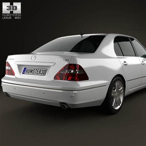 lexus models 2003 lexus ls xf30 2003 3d model hum3d