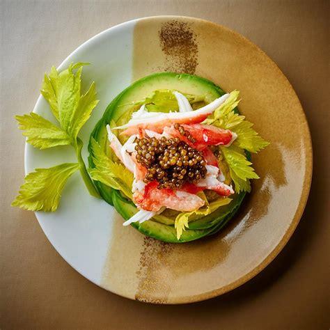 recette de cuisine gastronomique facile recette king crabe avocat et caviar cuisine madame figaro