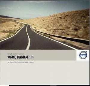 Volvo S60 V60 2014 Electrical Wiring Diagram Manual