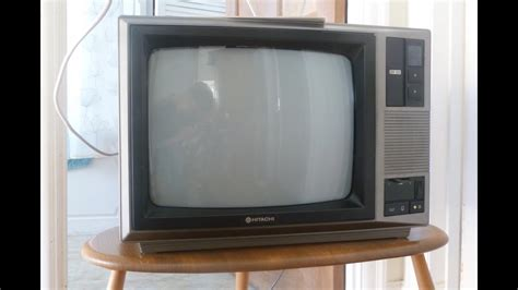 1986 Hitachi Cpt1662 Television