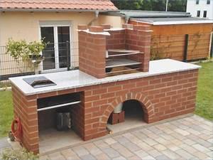 Grill Selber Bauen : grill und pizzaofen selbst gemauert ~ Lizthompson.info Haus und Dekorationen