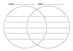 printable page size venn diagram templatae  french