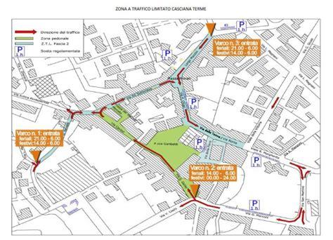 Ufficio Ztl Torino by Ztl Casciana Terme Mappa Orari Telecamere Parcheggi