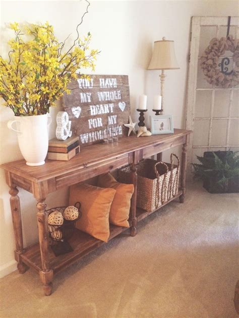 12 Best Images About My Foyer Table On Pinterest