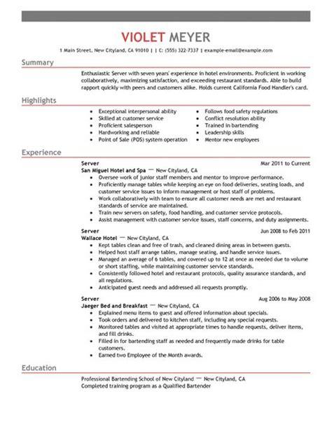 application letter  hotel  restaurant management