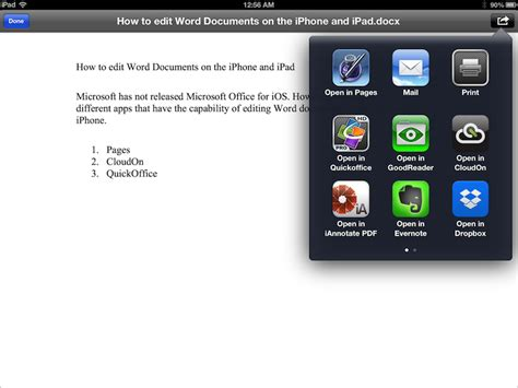 edit on iphone how to edit word excel and powerpoint documents on