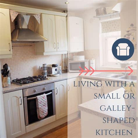 cottage galley kitchen tips for living with a small galley kitchen dove cottage 2635