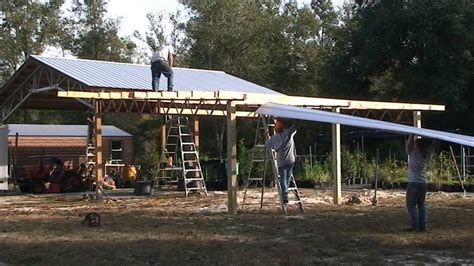 How To Build A Lean To On A Barn