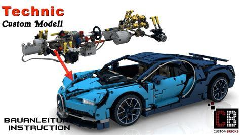 lego bugatti 42083 cb lego 42083 technik rc bugatti anleitung mit sbrick