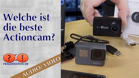 welche ist die beste actioncam