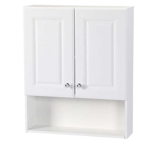 glacier bay bathroom wall cabinets glacier bay 23 in w x 28 in h x 6 1 2 in d bathroom