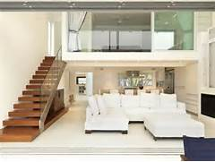 Black Color House Unusual Interior Extravagant Modern White Color Minimalist Big Sofas Design Ideas