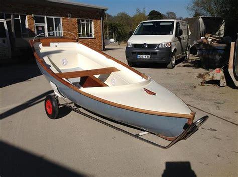 Lymington Scow For Sale by Trolleys Trailers Claridge Boats