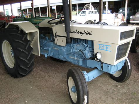 Lamborghini First Started Out Making Tractors But