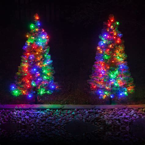 outdoor christmas tree decorations  designs