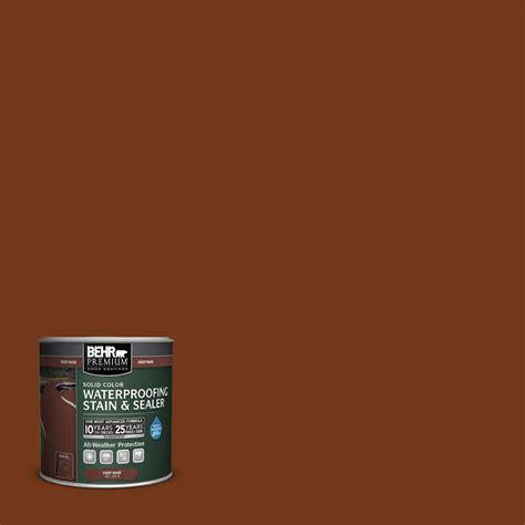 behr deck cleaner home depot behr premium 8 oz sc130 california rustic solid color