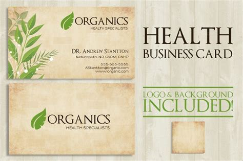 medical business card templates psd publisherms