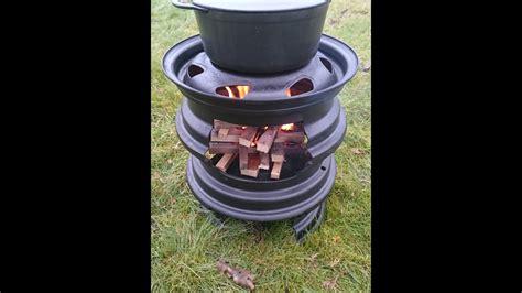 metall ofen selber bauen diy outdoorofen felgenofen grill g 252 nstig selber bauen