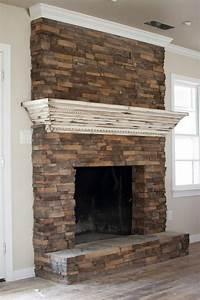 Brick, Fireplace, Mantle, 231, U2013, Decorathing