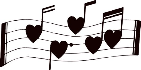 Free printable heart coloring page (pdf format) to download and print. Printable Music Notes - ClipArt Best