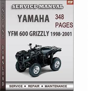 Yamaha Yfm 600 Grizzly 1998