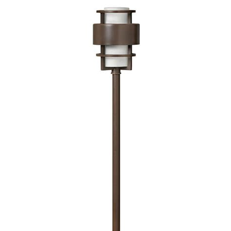 hton bay low voltage led bronze mission outdoor