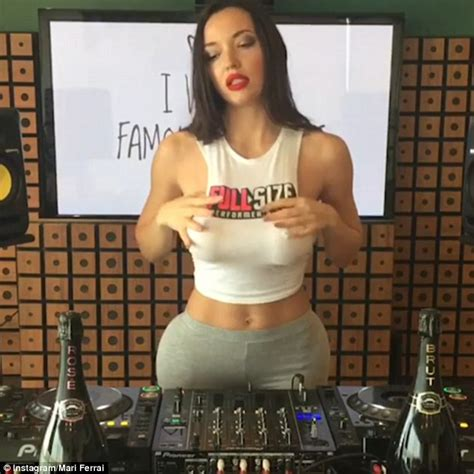 mari ferrari maria maria versuri dj mari ferrari boosts her popularity with racy video