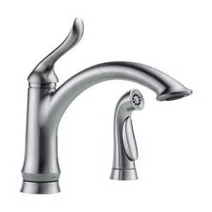delta faucet 4453 ar dst linden single handle side sprayer
